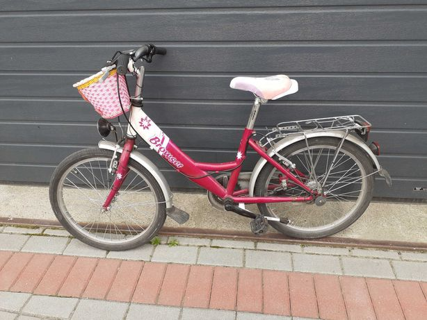 Rowerek dziewczęcy 20 cali