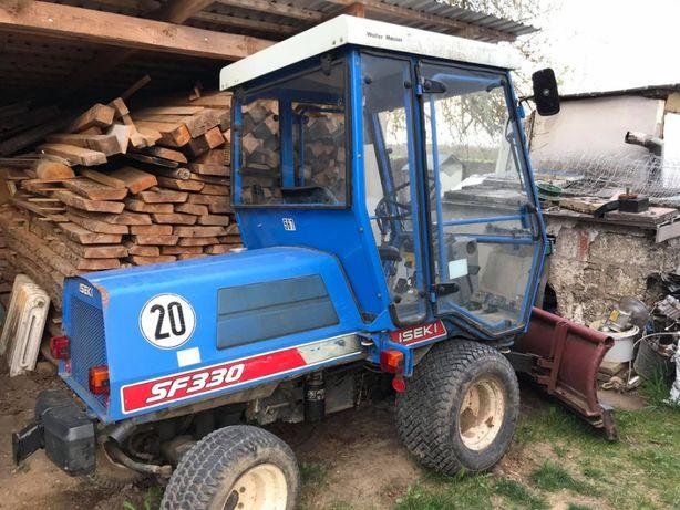 Traktorek plug, kosiarka ISEKI SF 330