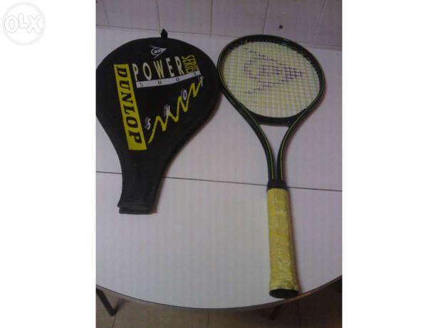 "Raquete de ténis dunlop serie power shot nº4 4 1/2"""