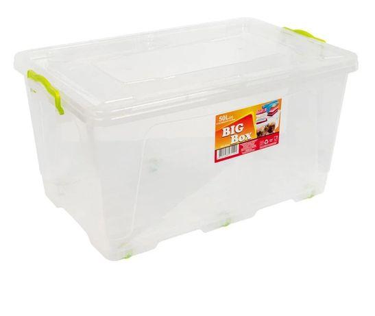 Контейнер 50 літрів Big box пластиковий на колесах