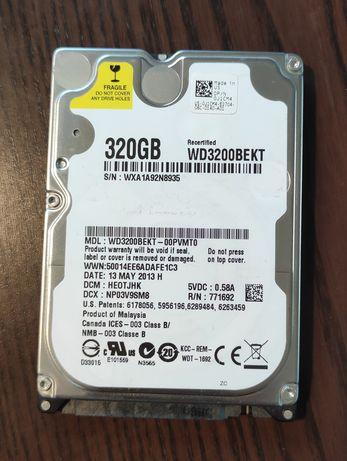 """Dysk Western Digital 320 GB 2,5"""" SATA II"""