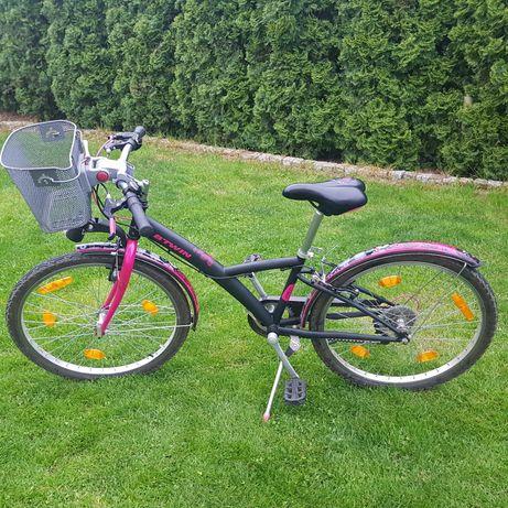 Rower Decathlon 24cale dla dziewczynki