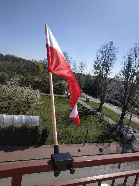 WYPRZEDAŻ! Uchwyty szybkozakładane do flag NAJTANIEJ!
