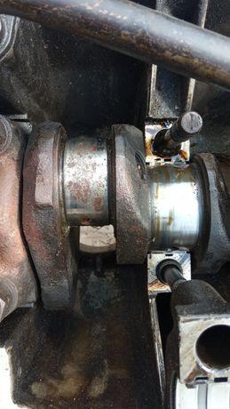 коленвал Москвич 412 1.5л. передняя часть двигател