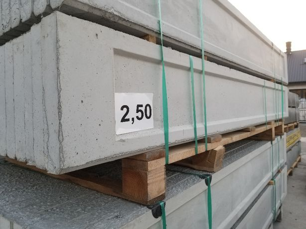 Podmurówka betnowa kaseton 0,3 x 2,50 x 0,057m Bochnia-Brzesko-Szczur