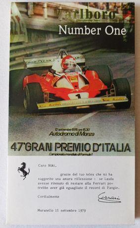 Number One - Edição musical especial do 47º Grande Prémio de Itália