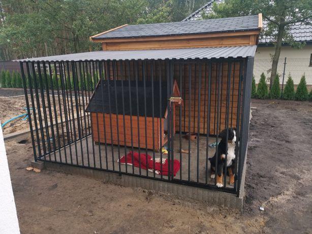 Kojec dla psa 4x3m, klatka, boks, zagroda, wiaty, najwyższa jakość