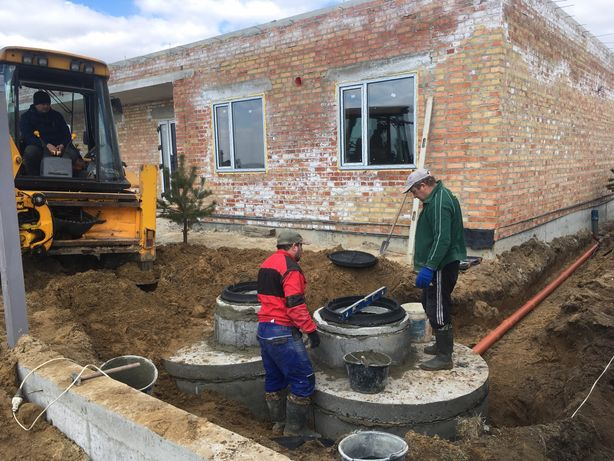 Зовнішня каналізація, септик, вигрібна яма, дренаж, кільця
