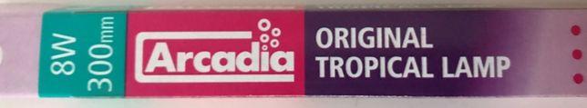 """Arcadia Original Tropical 8W - 300mm / 12"""" Lâmpada fluorescente - NOVA"""