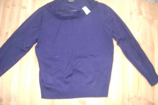 Bluzka granatowa sweterkowa