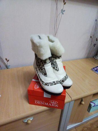 Ботинки зимние 37 размер
