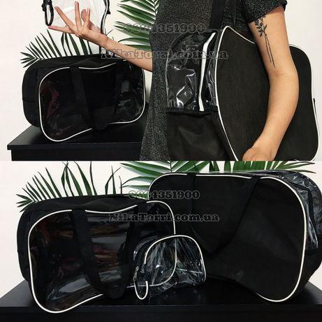 Nika Torri nikatorri.com.ua набор сумок с одним прозрачным окном