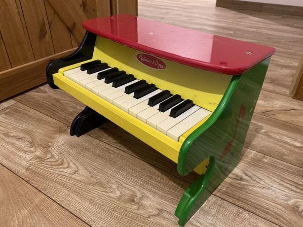 Pianinko drewniane duże pianino - Melissa and Doug