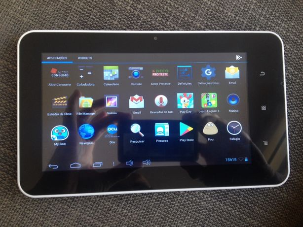Tablet Android como novo