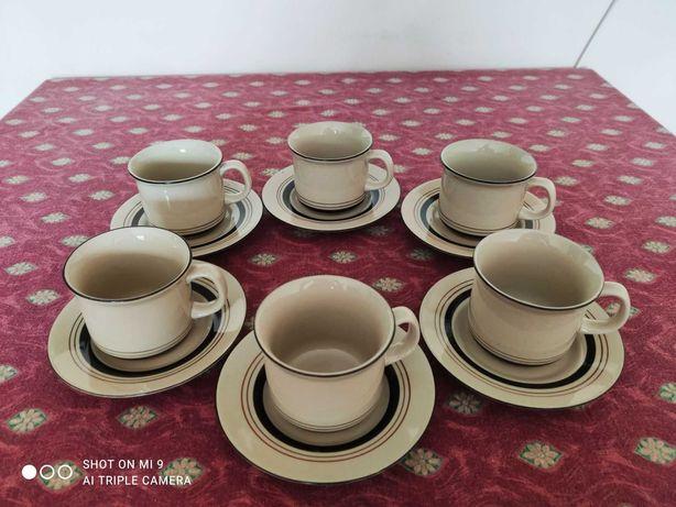 komplet do kawy - ceramika Tułowice