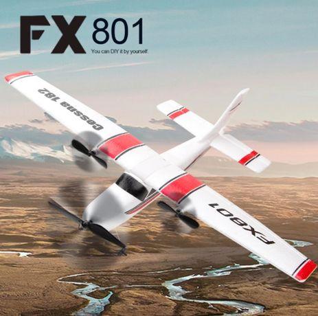 Avião Telecomandado RC radiomodelismo Cessna 2.4ghz 2ch NOVO