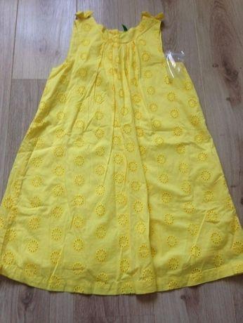 BENETTON NOWA sukienka na lato 2XL / 160cm