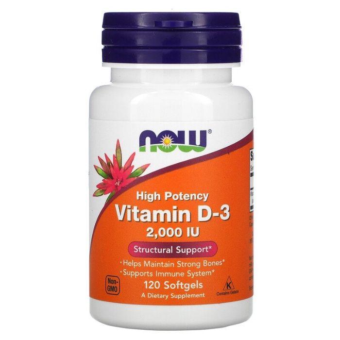 Vitamin D-3, 2,000IU, 120 шт. Киев - изображение 1