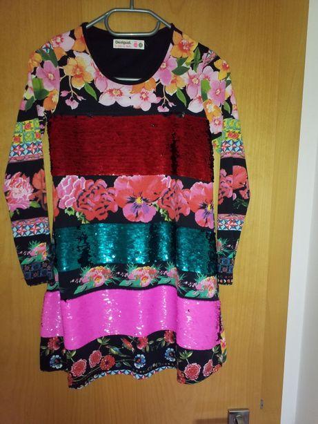 Vestido da marca desigual