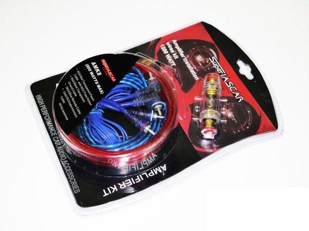 Набор проводов, кабель для усилителя, сабвуфера SUPER IASCAR 1200W