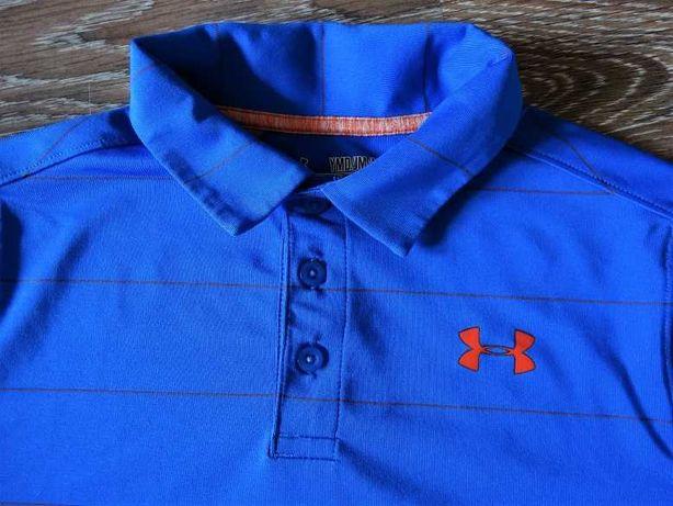 Jak Nowy t-shirt polo polówka Under Armour 152
