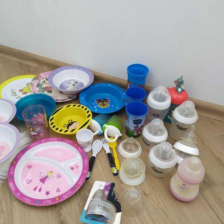 Дитячий посуд, бебі пластик, бутилочка, nuk, Mam,Tommy Tippie, Avent