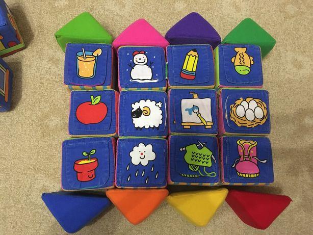 Мягкие кубики K's Kids развивающая игрушка от 1 года до 4 лет