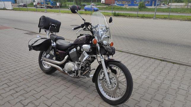 Yamaha Virago 535 w pełnym ubiorze dopieszczona Kraków okazja !!!