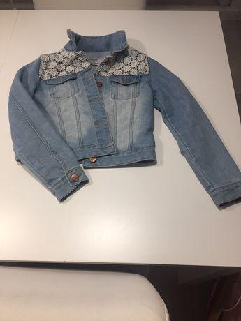 Kurtka jeans roz. 146