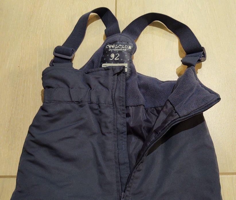 Spodnie narciarskie firmy Cool Club dla chłopca lub dziewczynki 92 cm Łódź - image 1