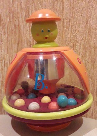 Игрушка юла - мандаринка Battat