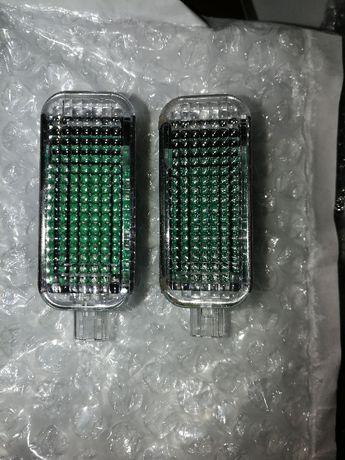 Плафон оригинал светодиодный LED VW T5 T6 Т5 Т6 порог бардачек фонарик
