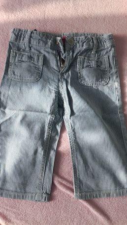 Spodnie 7/8 rozmiar 110