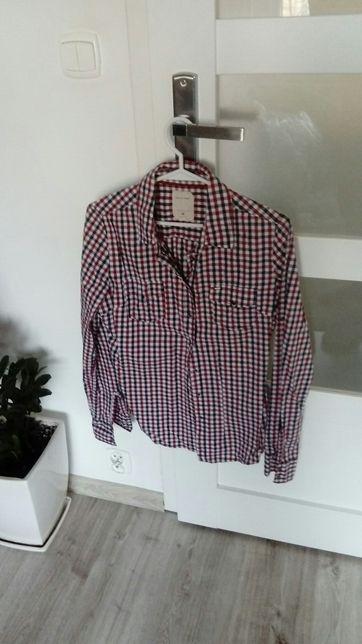Damska modna koszula w kratkę