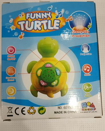 Проектор funny turtle