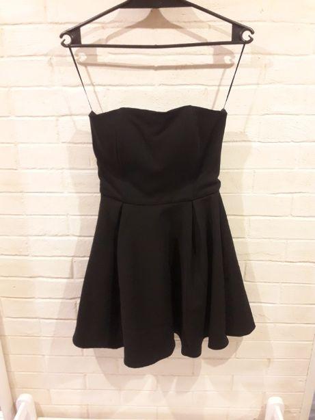 Czarna elegancka sukienka Sinsay M