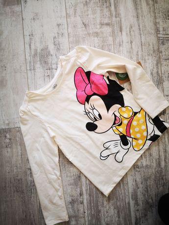 Nowa bluzeczka rozmiar 122 Disney myszka minnie