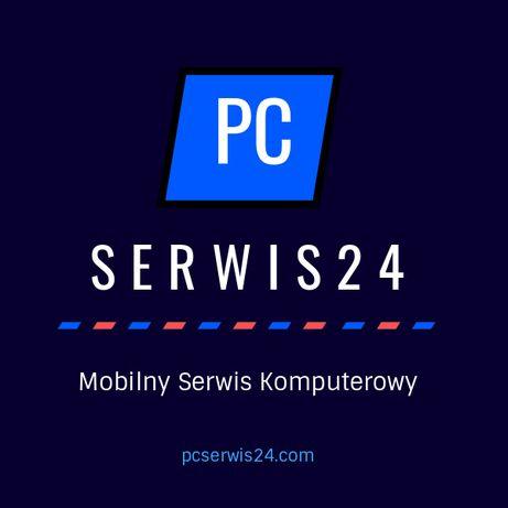 Mobilny Serwis Komputerowy, Pogotowie, Naprawa komputerów laptopów