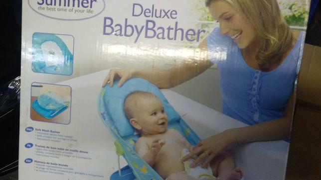 2 cadeiras de bébé para dar banho ou para praia completamente novas