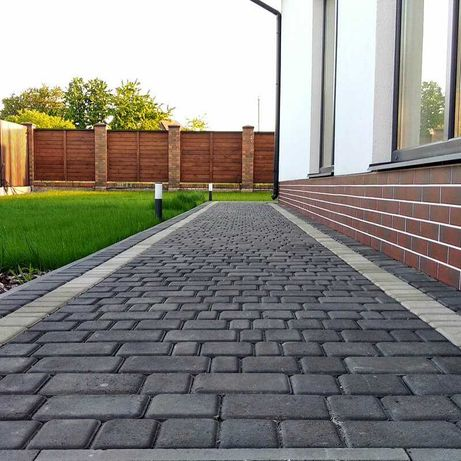 Укладка тротуарной плитки. Полный комплекс работ