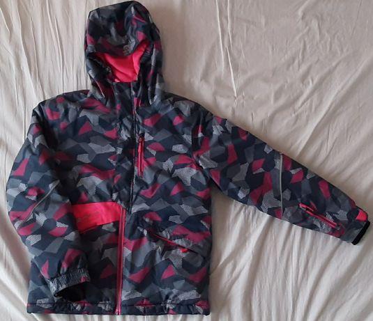 Kurtka narciarska dziewczęca  rozmiar 140-146