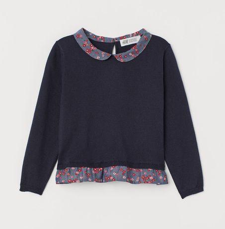 H&M 98/104 nowy sweterek
