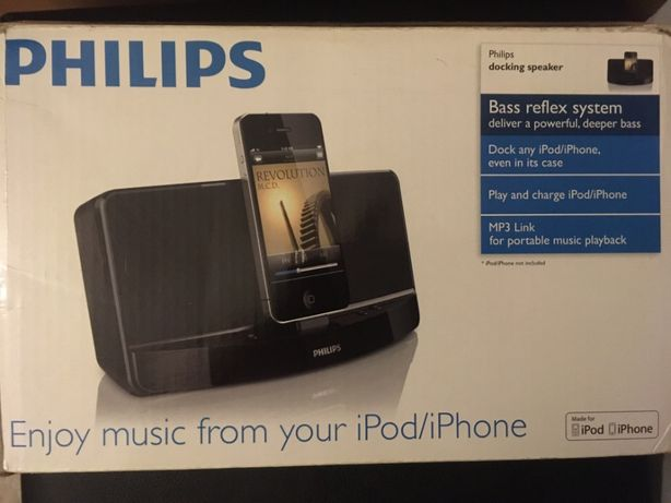 Phillips Docking Speaker