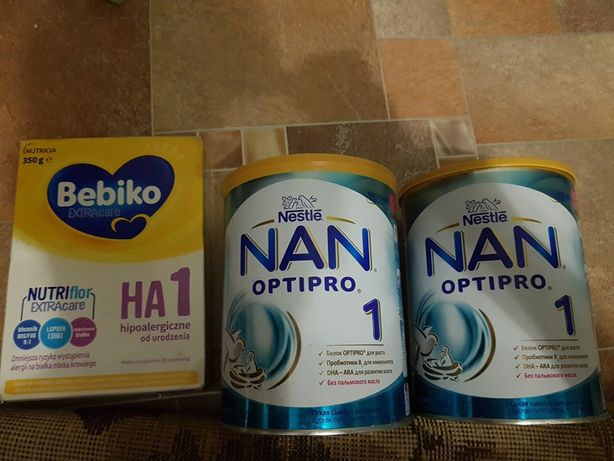 2 банки NAN Optipro 1 / 800g + бонус