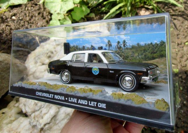 Chevrolet Nova James Bond 007 модель авто