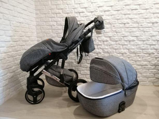 Детская универсальная коляска 2 в 1 Mikrus Comodo
