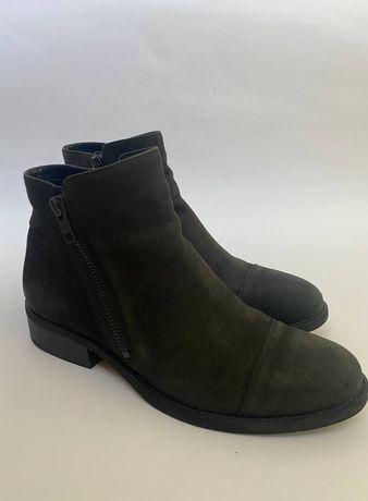 Ботинки из нубука Vagabond