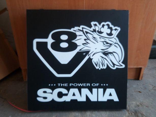 Tablica podświetlana do Scani V8