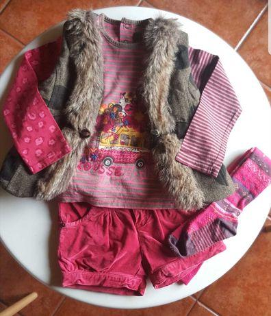 Conjunto Catimini menina 3 anos