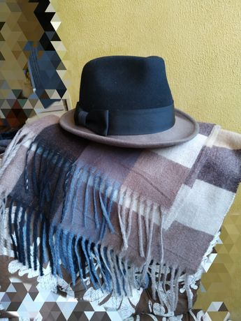 Шляпа женская фетровая